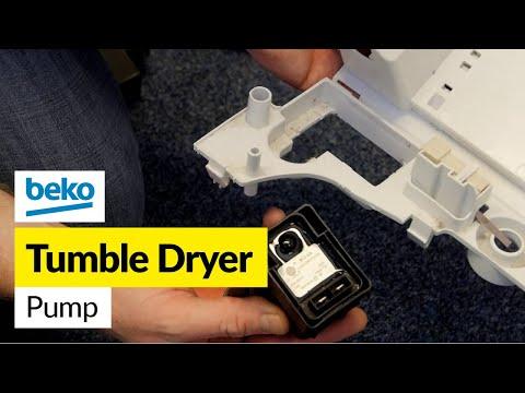 How to Fix a Tumble Dryer Condenser Pump (Beko)