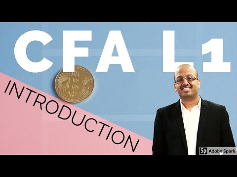 Introduction to CFA Level I by Sanjay Saraf Sir