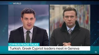 Cyprus peace talks: Turkish, Greek Cypriots leaders meet in Geneva