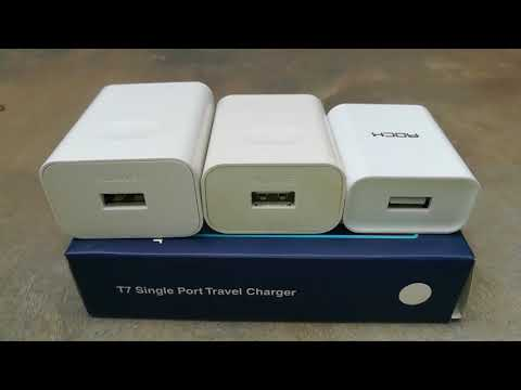 Rock ITG121 2.1 Amp USB Fast Charger Review