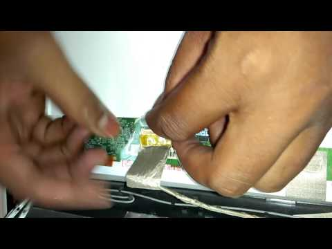 how to replace laptop screen