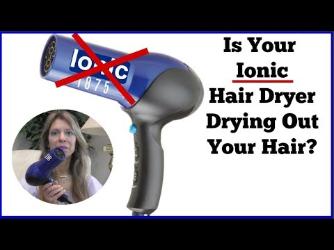 Is Your Hair, Dry, Flat, Thin, or Limp? It Could be Your Ionic Hair Dryer!