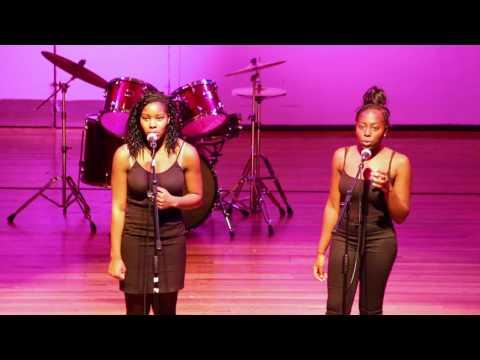 Safara & Steph - Dartford Grammar School Talent Show 2016