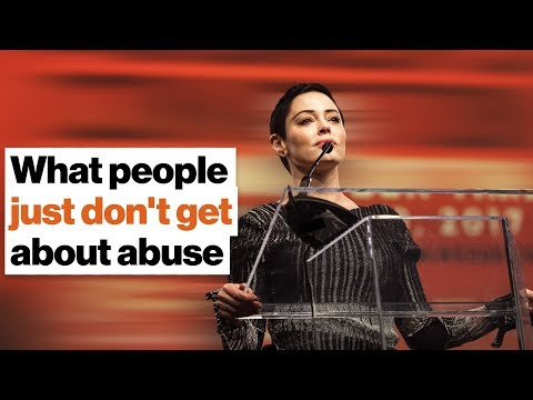 What people just don't get about abuse | Rose McGowan