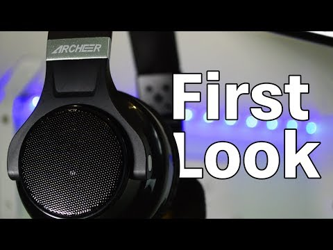 Bluetooth Headphones/Speaker Hybrids! - Archeer AH45 Unboxing and First Impressions