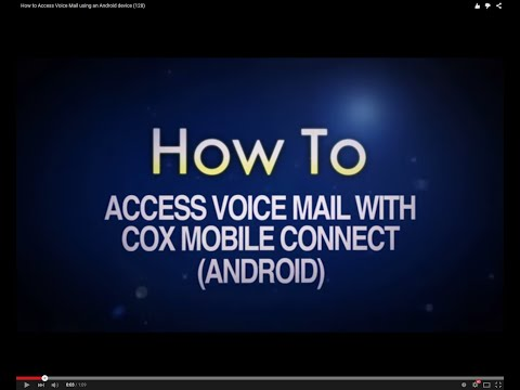 How to Access Voice Mail using an Android device (128)