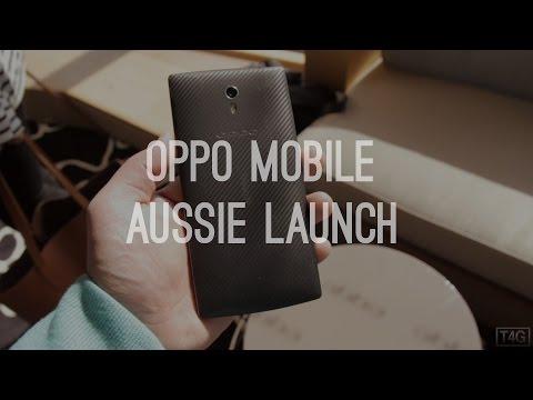 Oppo Mobile Australian Launch!
