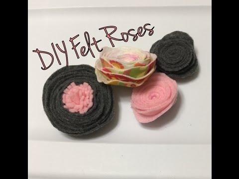 FELT SERIES, Episode 2: Felt Roses!!