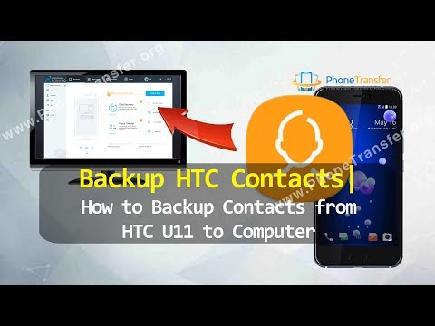 Backup HTC Contacts - How to Backup Contacts from HTC U11 to Computer