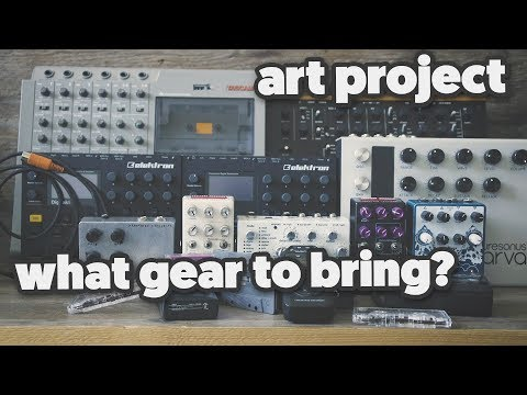 1 MONTH IN AN ABANDONED BUILDING; what gear to bring?! [ ART PROJECT ]