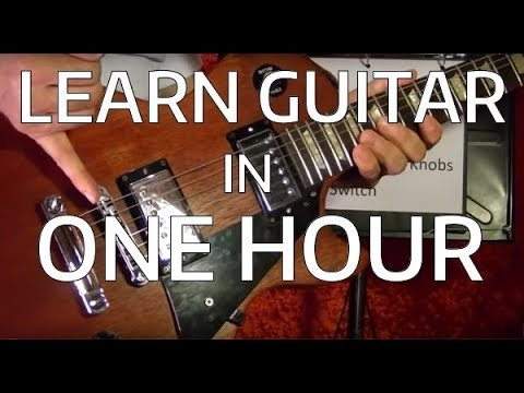 Learn EVERYTHING In One Guitar Lesson ( Notes, Chords, Scales, Tabs Etc... )
