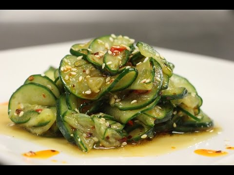 How to Make Spicy Cucumber Salad