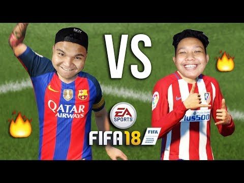 🔥 OOHAMI VS NABILICIOUS 🔥 (FIFA 18 Malaysia)