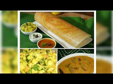 बिना दाल और चावल भिगोय बनाये डोसा Instant Masala Dosa Recipe & potato filling in 5 min,