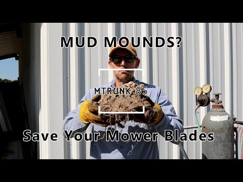 How to Remove Crawfish Mud Mound with a Custom Mud Mound Pulverizeer