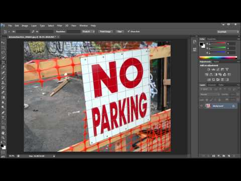 Photoshop Tutorial: CS6 New Perspective Crop Tool -HD-