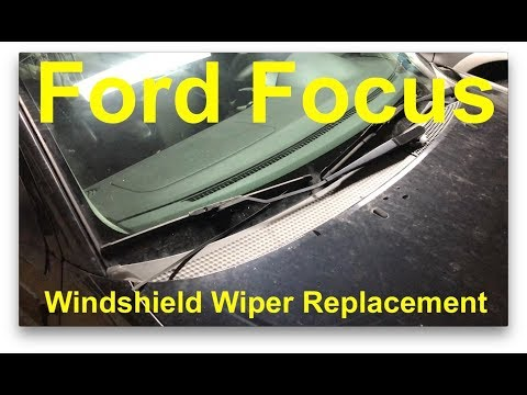 2000 - 2018 Ford Focus - Windshield Wiper Replacement