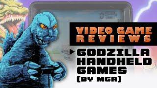 Godzilla Handheld Games - MIB Video Game Reviews Ep 12