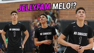 LaMelo Ball Does PULL UPS On The Rim At Drew League! Brings Out INSANE JELLYS In Front Of LaVar!