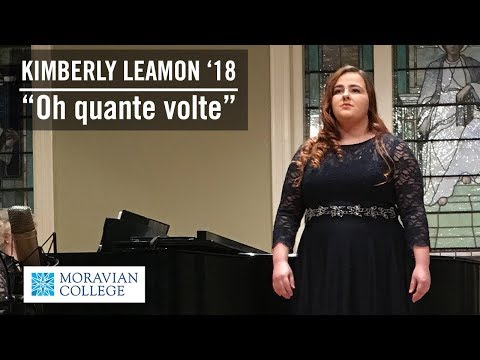 Kimberly Leamon '18 Performs