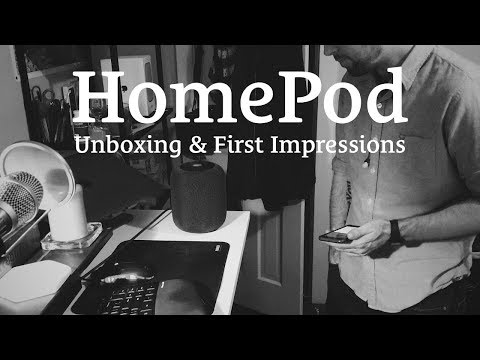 HomePod Unboxing & First Impressions