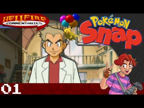 Pokemon Snap playthrough [Part 1: Gotta Snap 'em All!]