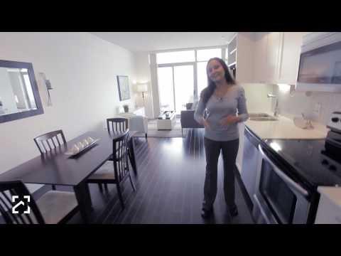 Video walkthru at condo 103 Queensway - Toronto, Ontario - Real Estate