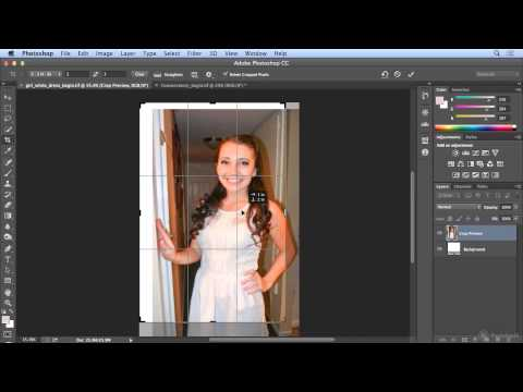 Cropping to Ratios, fixed sizes and resolution in Photoshop CC