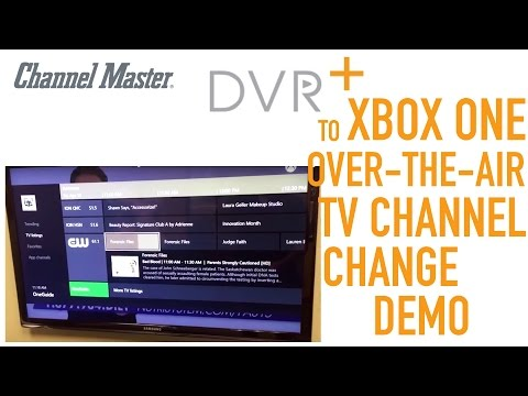 Channel Master DVR+ | Xbox One Over-the-Air TV Channel Change Demo