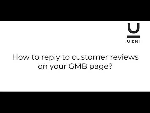How to reply to customer reviews on your GMB page