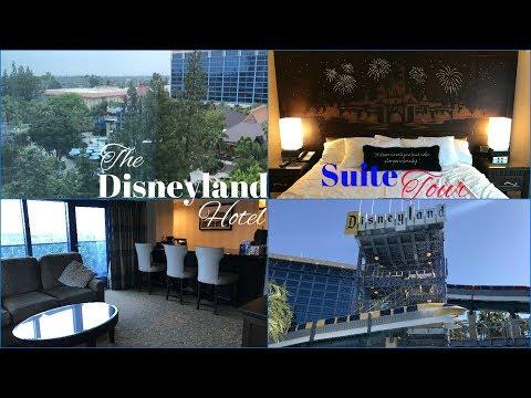The Disneyland Hotel - TWO BEDROOM SUITE TOUR!!   2017
