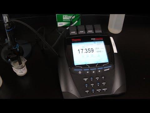 Calibrating pH Orion Versastar Meter