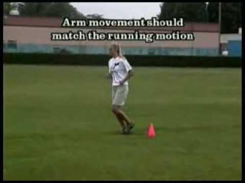 Speed Drills: Fast Leg Run Drill