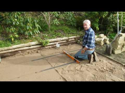 How to make sand flat for paving-Desktop.m4v