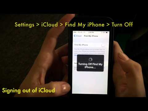 How to sign out of iCloud on your iPhone