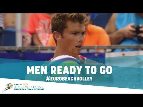 History-making #EuroBeachVolley 2018 starts in Apeldoorn