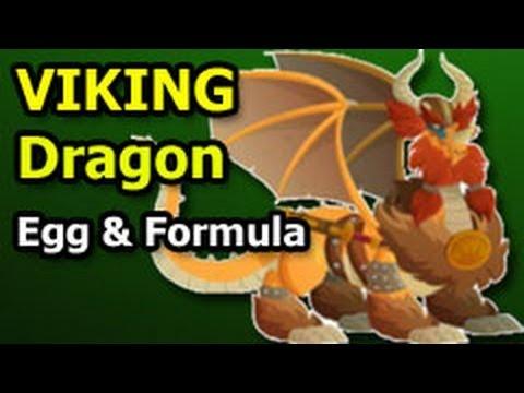 VIKING DRAGON Dragon City Egg and Breeding Formula