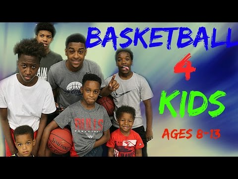 Youth Basketball Drills For Kids - 8-13 yr old