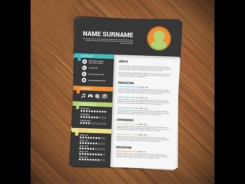 Resume Design Tutorial : Adobe Illustrator CS 6 | MasterD 360!!! &25 hf4hs