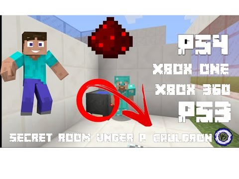 How To Make A Secrect Room Under A Cauldron In Minecraft Ps4-Ps3-Xbox One-Xbox 360-Pe-Pc