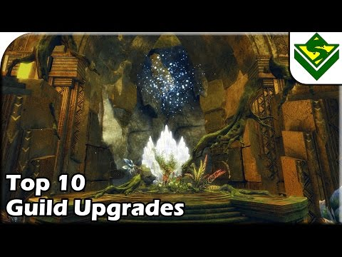Guild Wars 2 - Top 10 Guild Upgrades We Still Need!