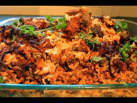 Spicy Mutton Dum Biryani--Select HD Quality