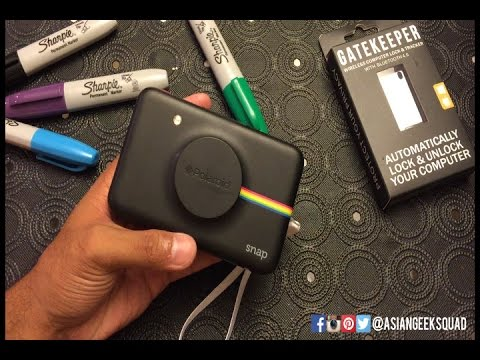 All About The #Polaroid Snap: Buttons and Settings!