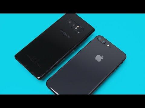 iPhone 8 Plus vs Note 8 - ULTIMATE Comparison!