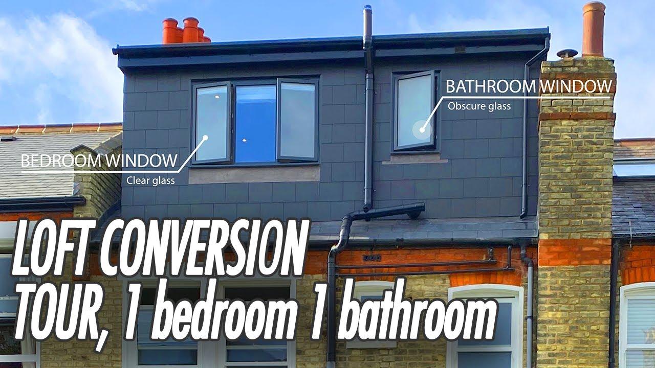 Loft Conversion Uk TOUR. One Bedroom loft conversion London, Dormer Loft Conversion Loft bathroom