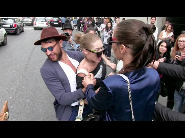 Download OFFICIAL VIDEO - FULL - Gigi Hadid gets attacked in Milan by a prankster and FURIOUSLY fights back MP3 Gratis