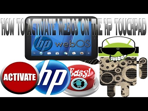 HP TouchPad | WebOS Activation Bypass