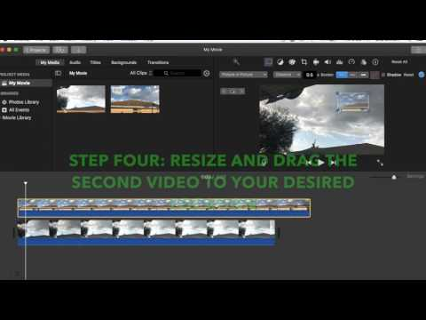 How to: Add Two Videos Together in iMovie