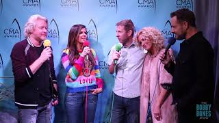 Little Big Town at the 51st CMA Awards