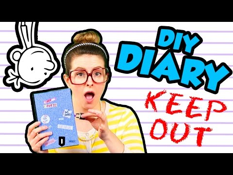 Diary of a Wimpy Kid DIY Journal! | Arts and Crafts with Crafty Carol